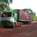 Container Arrives in Nalerigu
